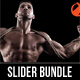 3 in 1 Fitness & Sport Activity Slider Bundle