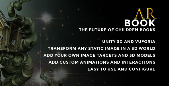 Download ARBook - Augmented Reality Interactive Book Unity nulled download