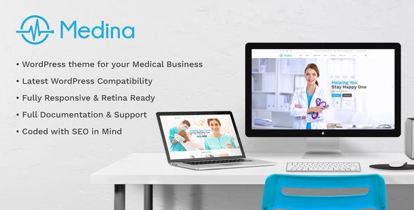 Medina | WordPress Medical, Health Theme