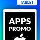 Multipurpose Apps Promo for Tablet
