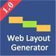 Web Layout Code Generator