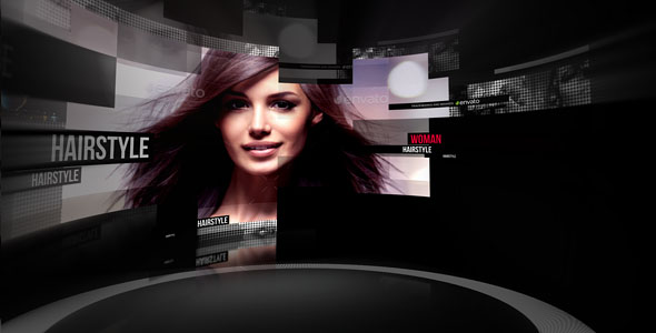 VideoHive Curved Screen 19319657