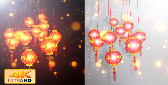 VideoHive Chinese Lantern Lights 4 19319716