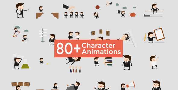 Character Animation Pack (Product Promo) After Effects