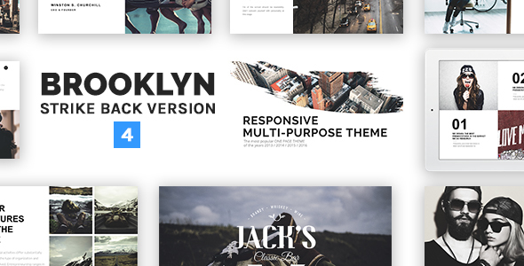 Brooklyn | Responsive Multi-Purpose WordPress Theme
