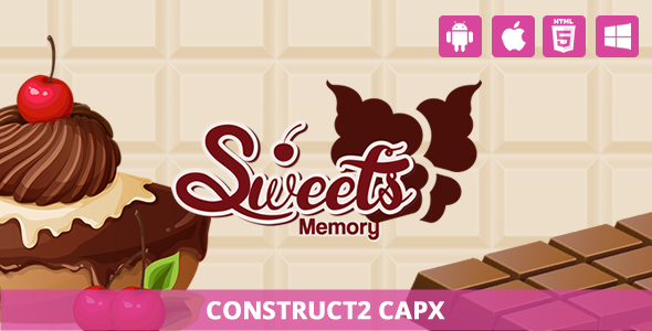 Download Sweet Memory - HTML5 Game (Capx)