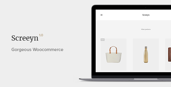 Download Screeyn - Minimal & Sleek WooCommerce Theme nulled download
