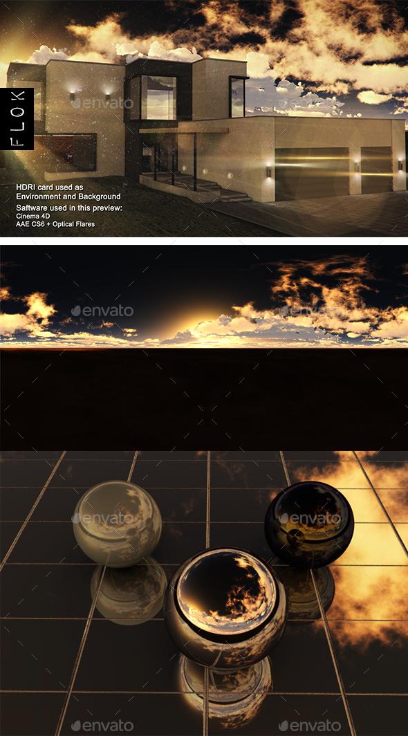 Sunset Desert 86 - 3DOcean Item for Sale