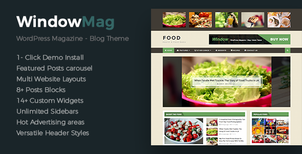 WindowMag - Responsive News / Magazine / Blog Theme