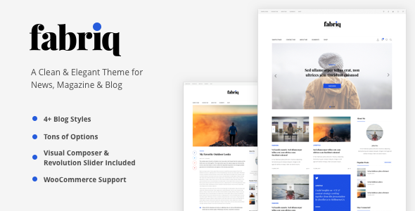 Download Fabriq - Personal WordPress Blog Theme nulled download
