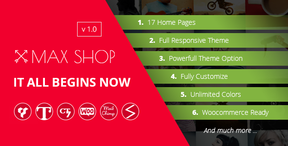 Download Maxshop | Multi-Purpose Responsive WooCommerce Theme nulled download