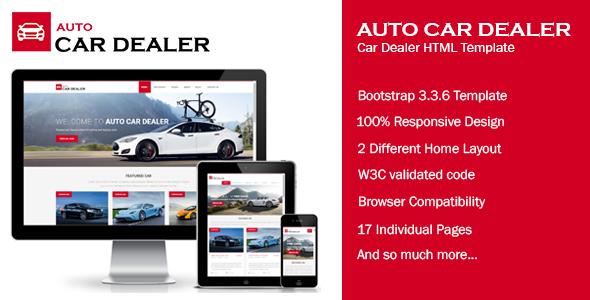 Download Auto Car Dealer - Car Dealer HTML Template