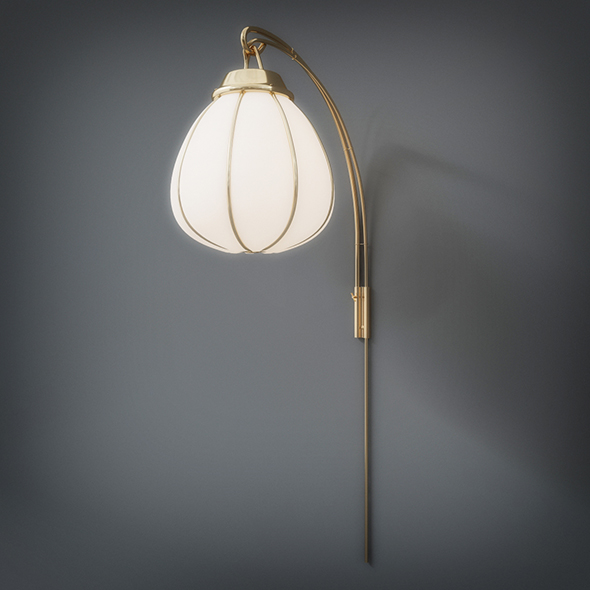 Wall Lamp (3dsmax + Vray Ready) - 3DOcean Item for Sale