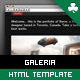 Galeria - Single Page Portfolio Template - ThemeForest Item for Sale