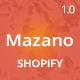 Mazano - Ultimate Responsive Shopify Theme
