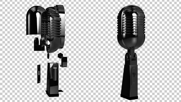 VideoHive Microphone Tranforming 01 19322922