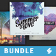House Music CD Cover Artwork Templates Bundle