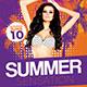 Summer Sensation Party Flyer