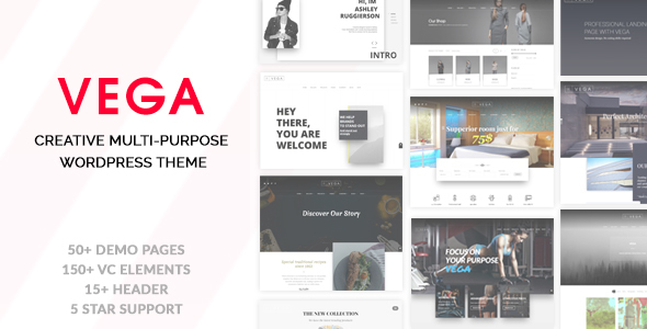 Download Vega - Creative Multi-Purpose WordPress Theme