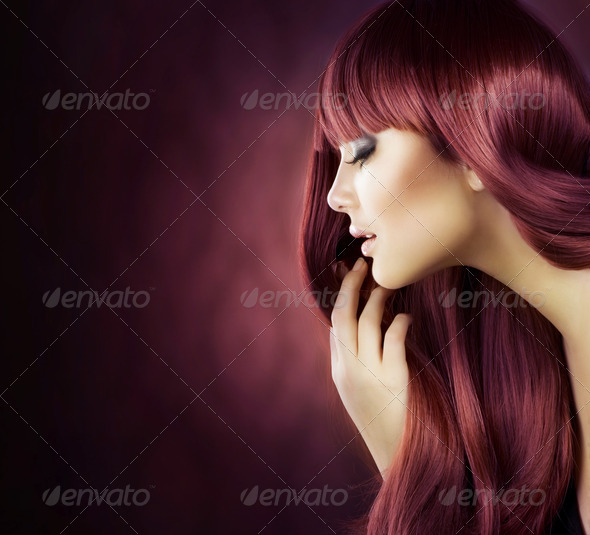 Healthy Hair - Stock Photo - Images