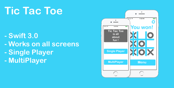 Download Tic Tac Toe iOS nulled download