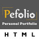 Pefolio – Landing Page HTML Template (Portfolio) Download