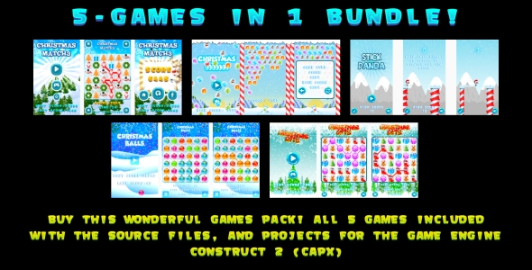 5-WINTER GAMES IN 1 BUNDLE! (CAPX)