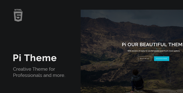 PiTheme – Creative Responsive One Page (Creative) images