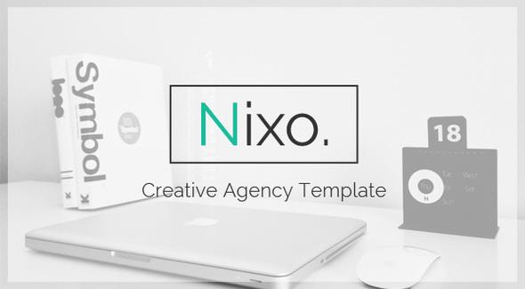 Nixo Creative OnePage Template (Creative) images