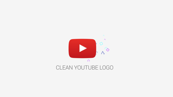 VideoHive Clean Youtube Logo 19316088