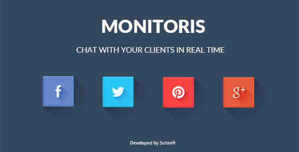 Download Monitoris - Facebook and Twitter Chat nulled download