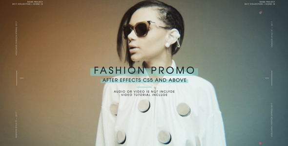 Fashion Promo After Effects Template Videohive 19326412 After Effects Project Files