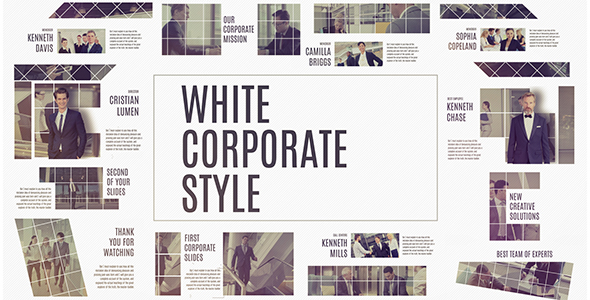 VideoHive Corporate White 19316497