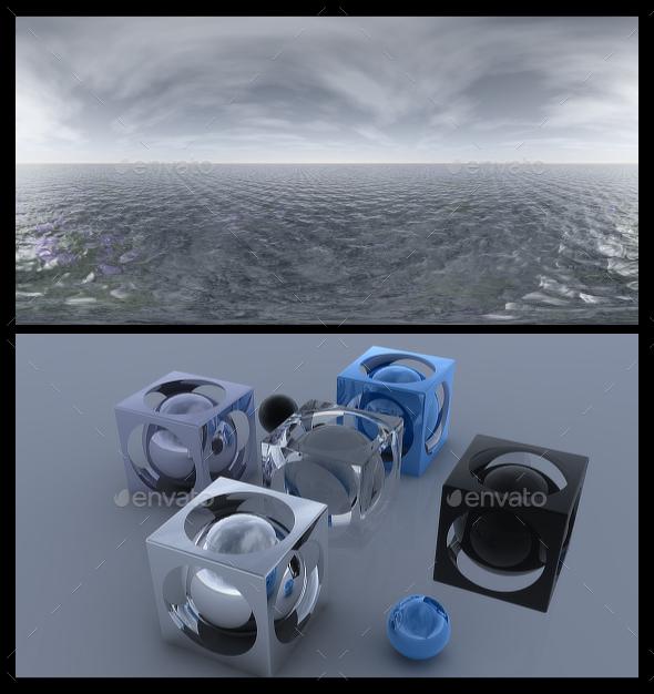 Ocean Grey 3 - HDRI - 3DOcean Item for Sale