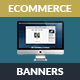eCommerce Marketing Banners - Animated HTML5 GWD