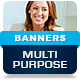 Multipurpose Business Company - HTML5 Banner Ads