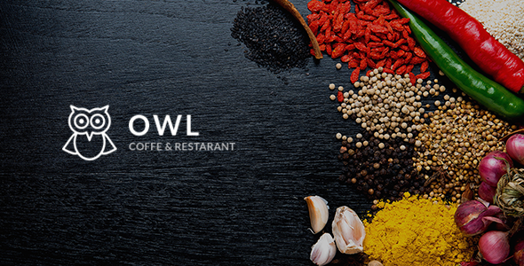 OWL - Cafe & Restaurant Drupal 8 Template