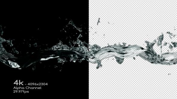 VideoHive Water Wave Splash 4K 19308693