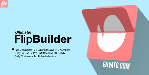 Ultimate Flip Builder (Technology) After Effects Templates