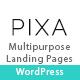 Pixa - Multipurpose Landing Page WordPress Theme with Page Builder