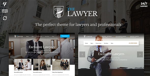 Download TheLawyer – Lawyer WordPress Theme for Lawyers, Attorneys & Law Firms nulled download