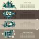 Set Fifteen of Internet Technology Banners