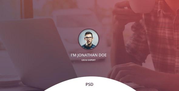 Verka - CV/Resume PSD Template