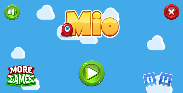 Download Mio - HTML5 game. Construct2 (.capx) + mobile