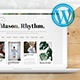 Mason Rhythm. WordPress Masonry Theme