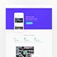 E-Buy Apps Landing PSD Template