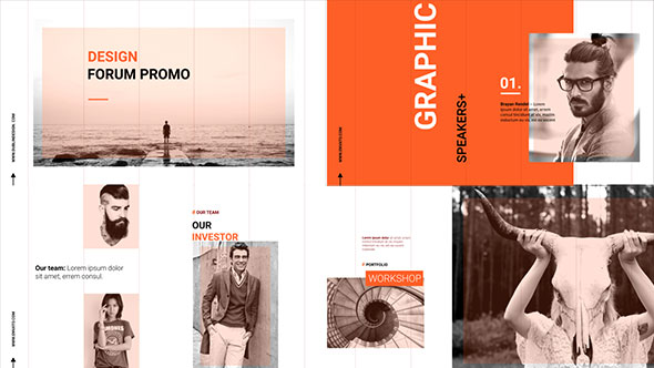 Red Modern Presentation (Special Events) After Effects Templates