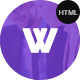 Wasan Responsive App Landing Page