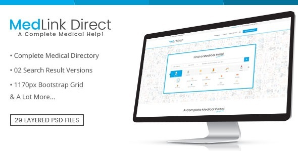 Doctor Directory - PSD Template