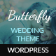 Butterfly - A Wedding WordPress Theme